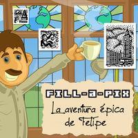 Portada oficial de Phil's Epic Fill-a-Pix Adventure para Nintendo 3DS