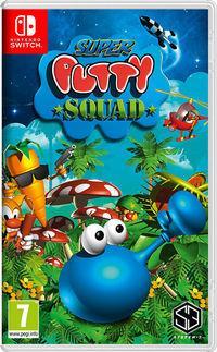 Portada oficial de Super Putty Squad para Switch