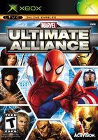 Portada oficial de Marvel: Ultimate Alliance para Xbox