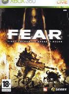Portada oficial de F.E.A.R. para Xbox 360