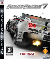 Portada oficial de Ridge Racer 7 para PS3