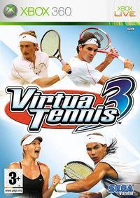 Portada oficial de Virtua Tennis 3 para Xbox 360