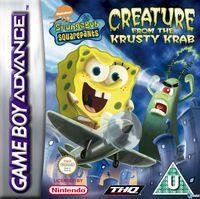 Portada oficial de SpongeBob SquarePants: Creature para Game Boy Advance