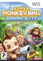 Portada oficial de Super Monkey Ball: Banana Blitz para Wii