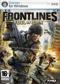Portada oficial de Frontlines: Fuel of War para PC