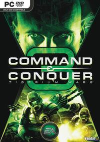 Portada oficial de Command & Conquer 3: Tiberium Wars para PC