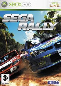 Portada oficial de Sega Rally para Xbox 360