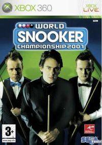 Portada oficial de World Snooker Championship 2007 para Xbox 360