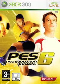 Portada oficial de Pro Evolution Soccer 6 para Xbox 360