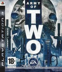 Portada oficial de Army of Two para PS3