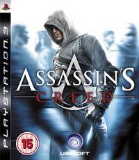 Portada oficial de Assassin's Creed para PS3