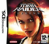 Portada oficial de Tomb Raider: Legend para NDS