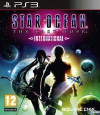 Portada oficial de Star Ocean: The Last Hope International para PS3