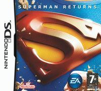 Portada oficial de Superman Returns para NDS
