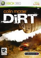 Portada oficial de Colin McRae: DIRT para Xbox 360