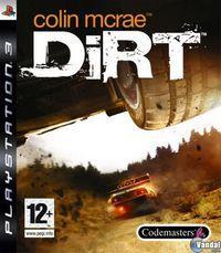 Portada oficial de Colin McRae: DIRT para PS3