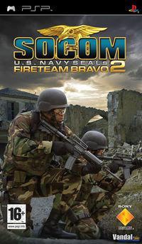 Portada oficial de SOCOM: U.S. Navy Seals Fireteam Bravo 2 para PSP