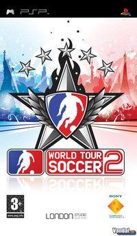 Portada oficial de World Tour Soccer 2 para PSP