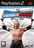 Portada oficial de WWE SmackDown vs. Raw 2007 para PS2