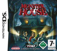 Portada oficial de Monster House para NDS