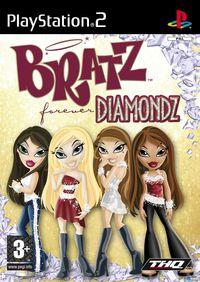 Portada oficial de Bratz: Forever Diamondz para PS2