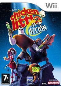 Portada oficial de Disney's Chicken Little: Ace in Action para Wii