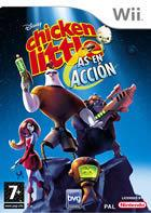 Portada oficial de Disney's Chicken Little: Ace in Action para Wii