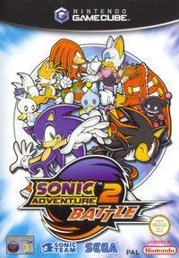 Portada oficial de Sonic Adventure 2 Battle para GameCube