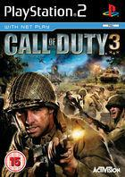 Portada oficial de Call of Duty 3 para PS2