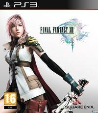 Portada oficial de Final Fantasy XIII para PS3