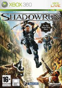 Portada oficial de Shadowrun para Xbox 360