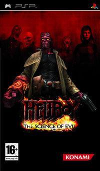 Portada oficial de Hellboy: Science of Evil para PSP