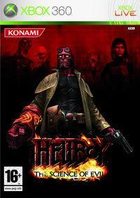 Portada oficial de Hellboy: Science of Evil para Xbox 360