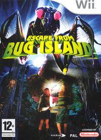Portada oficial de Escape from Bug Island para Wii