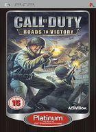 Portada oficial de Call of Duty: Roads to Victory para PSP