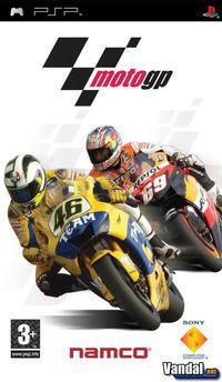 Portada oficial de Moto GP para PSP