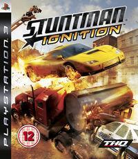 Portada oficial de Stuntman Ignition para PS3