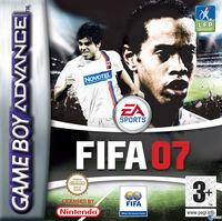 Portada oficial de FIFA 07 para Game Boy Advance