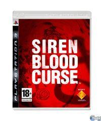 Portada oficial de Siren: Blood Curse PSN para PS3
