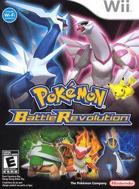 Portada oficial de Pokémon Battle Revolution para Wii