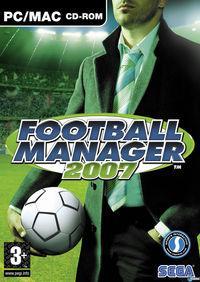 Portada oficial de Football Manager 2007 para PC