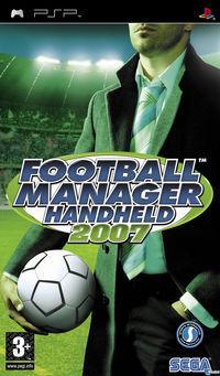 Portada oficial de Football Manager 2007 para PSP