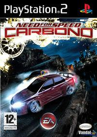 Portada oficial de Need for Speed Carbono para PS2