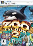 Portada oficial de Zoo Tycoon 2: Marine Mania para PC