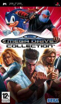 Portada oficial de SEGA Mega Drive Collection para PSP