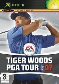 Portada oficial de Tiger Woods PGA Tour 07 para Xbox