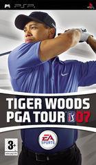 Portada oficial de Tiger Woods PGA Tour 07 para PSP