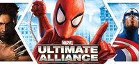 Portada oficial de Marvel: Ultimate Alliance para PC
