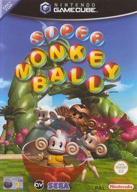 Portada oficial de Super Monkey Ball para GameCube