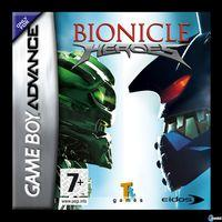 Portada oficial de Bionicle Heroes para Game Boy Advance